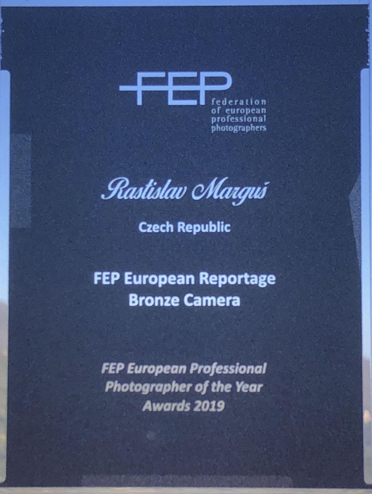 Naši fotografové finalisty soutěže FEP Evropský profesionální fotograf roku 2019