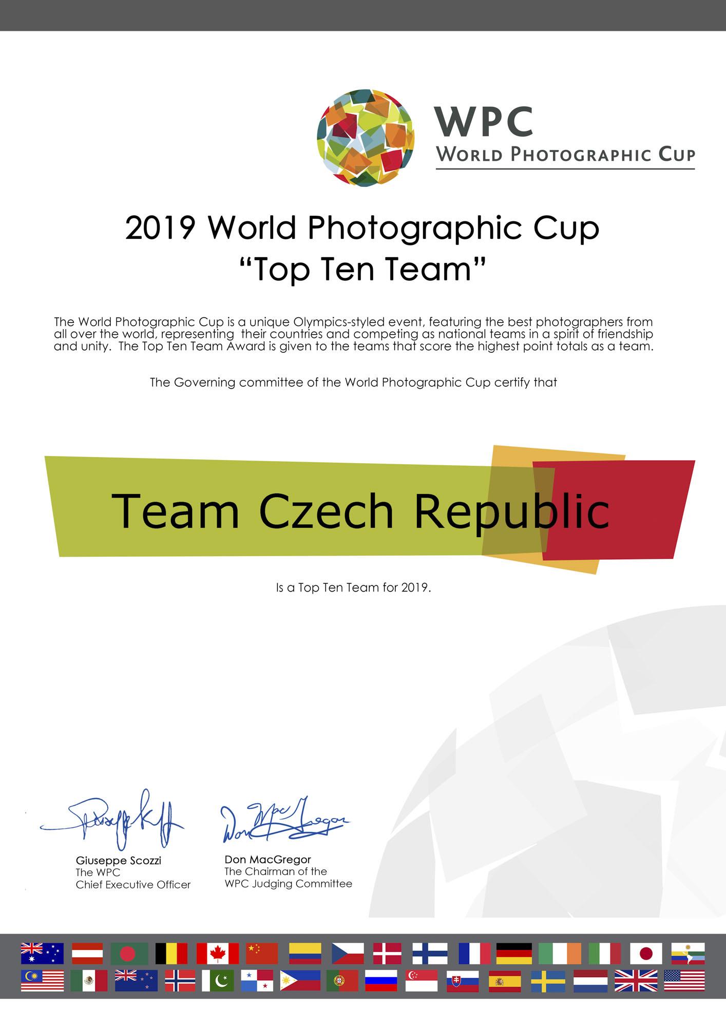 Světový fotografický pohár 2020 - uzávěrka prodloužena do 20.9. 2019 !!