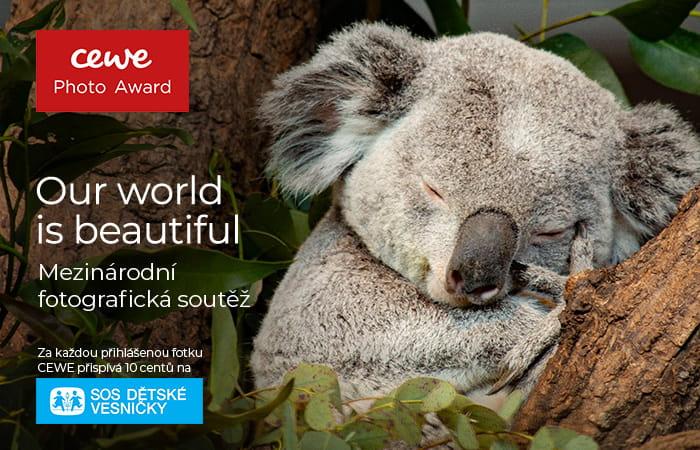 APF se stala patronem celosvětové soutěže CEWE Photo Award 2021!  Také vaše fotografie se mohou ucházet o některou z cen